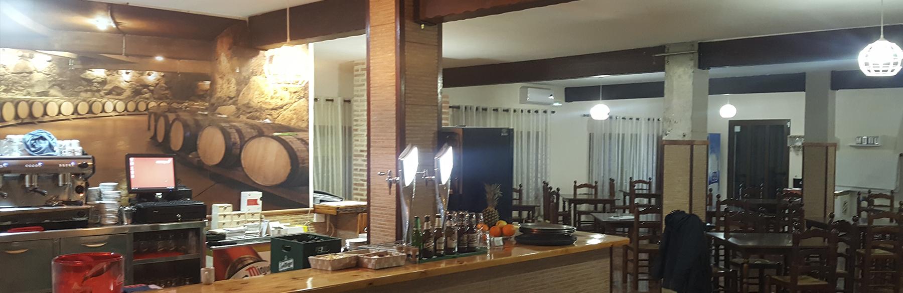 Restaurante bonanza del club de tenis y padel Naquera de la Academia Tenis 92